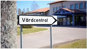 Vårdcentral Uppsala- Krankenpflegerstation wörtlich übersetzt.