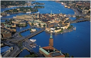 Postkarte von Stockholm